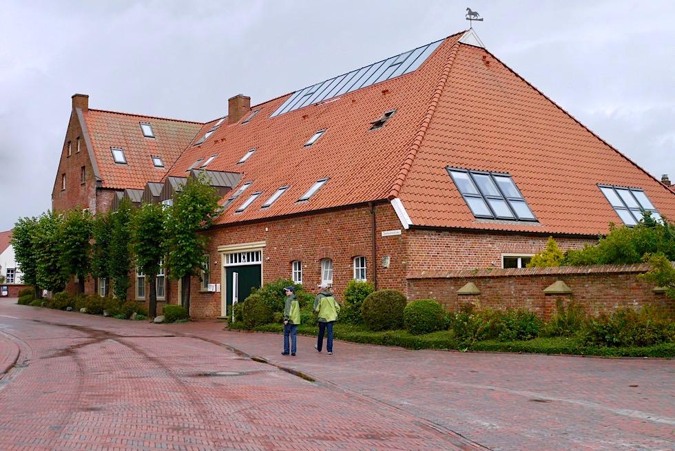 Greetsiel - Historischer Gulfhof: ehemaliges Amtmannshaus - Krummhörn - Ostfriesland