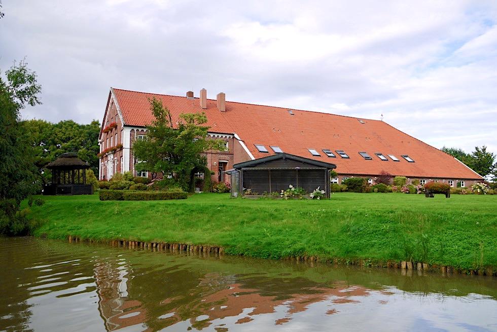 Greetsiel - Schöner historischer Gulfhof: Landgasthaus Steinfeld - Krummhörn - Ostfriesland
