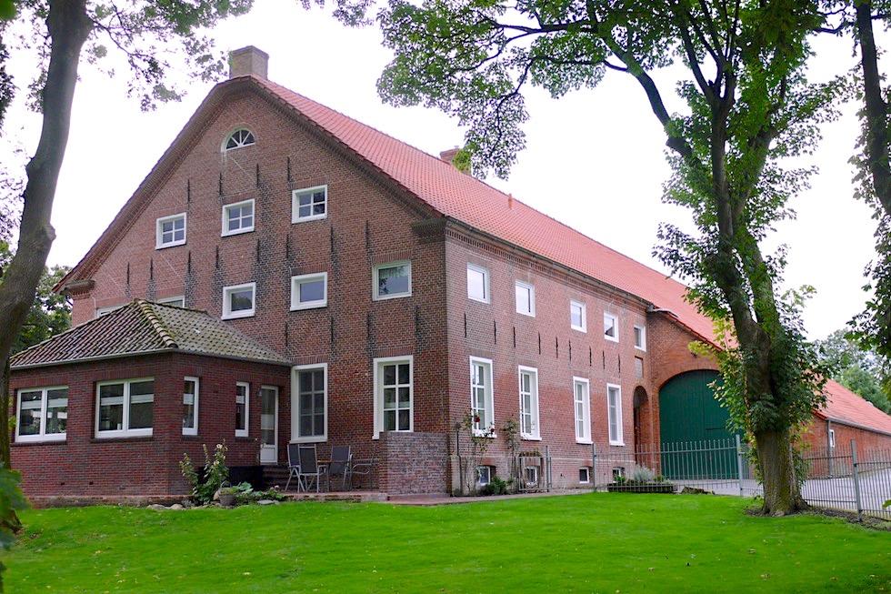 Greetsiel - Ortsteil Hauen: Historischer Gulfhof - Krummhörn - Ostfriesland