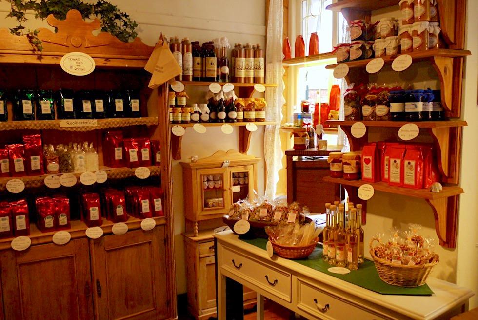 Greetsiel - Poppinga's Alte Bäckerei: Tee & Geschenke - Krummhörn - Ostfriesland