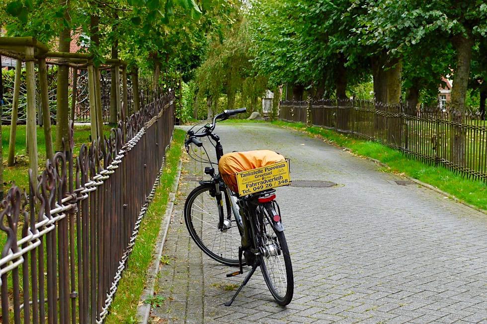 Greetsiel - Radtour auf der Krummhörn - Ostfriesland