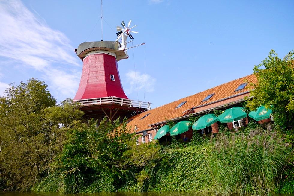 Greetsieler Zwillingsmühle - Rote Galerieholänder - Krummhörn - Ostfriesland