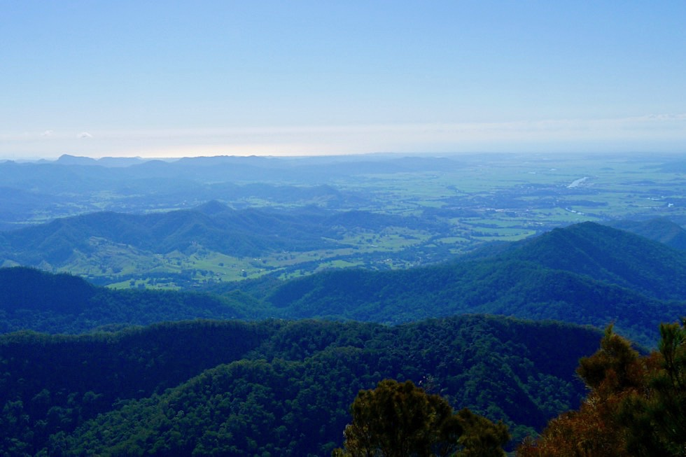 Mt Warning - Faszinierender 360° Gipfel Ausblick - Wollumbin National Park - New South Wales