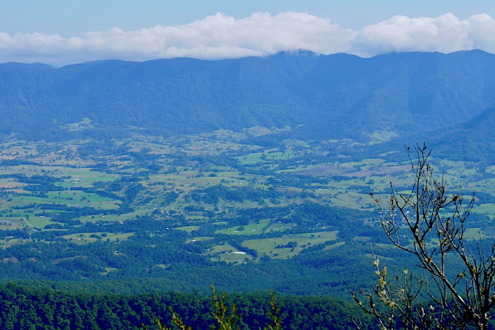 Mt Warning, Tweed Valley, Border Ranges: Vulkanischer Dreiklang - Wollumbin National Park - New South Wales