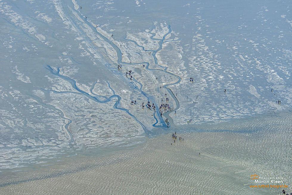 Nationalpark Wattenmeer aus der Vogelperspektive - Ostfriesische Inseln