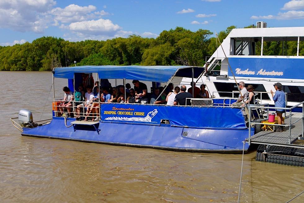 Spectacular Jumping Crocodile Cruise: am besten mit dem kleinen Boot - Adelaide River - Northern Territory