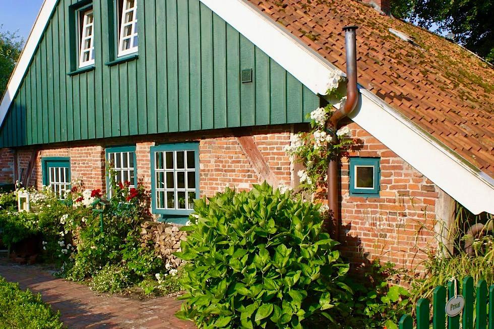 Spiekeroog - Altes Inselhaus: das älteste Haus der Insel - Ostfriesische Inseln