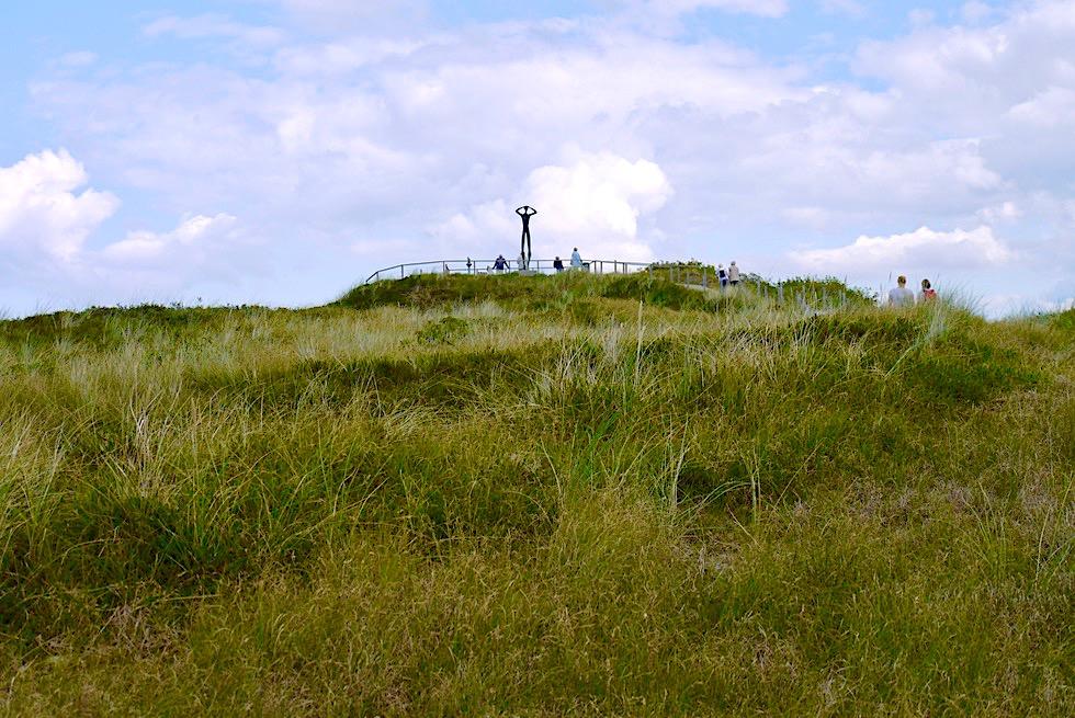 Spiekeroog - Beeindruckende Aussichtsplattform in den Dünen - Ostfriesische Inseln