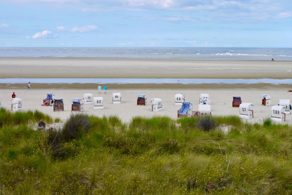 Spiekeroog - Dünen, Strand, Strandkörbe & Meer - Ostfriesische Inseln