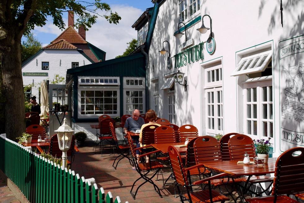 Spiekeroog - Historische Teestube mit Terrasse - Ostfriesische Inseln
