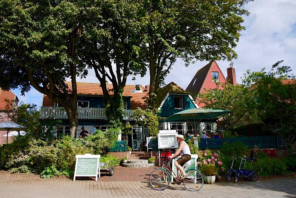 Spiekeroog - hier sorgen selbst Radfahrer für Unruhe - Ostfriesische Inseln
