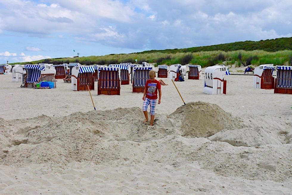 Spiekeroog - Erholung am Sandstrand, in Sandkörben & bei Nordsee Spaziergängen - Ostfriesische Inseln