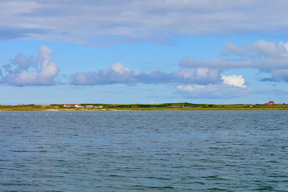 Ausblick auf Spiekeroog - Überfahrt mit Wassertaxi - Ostfriesische Inseln