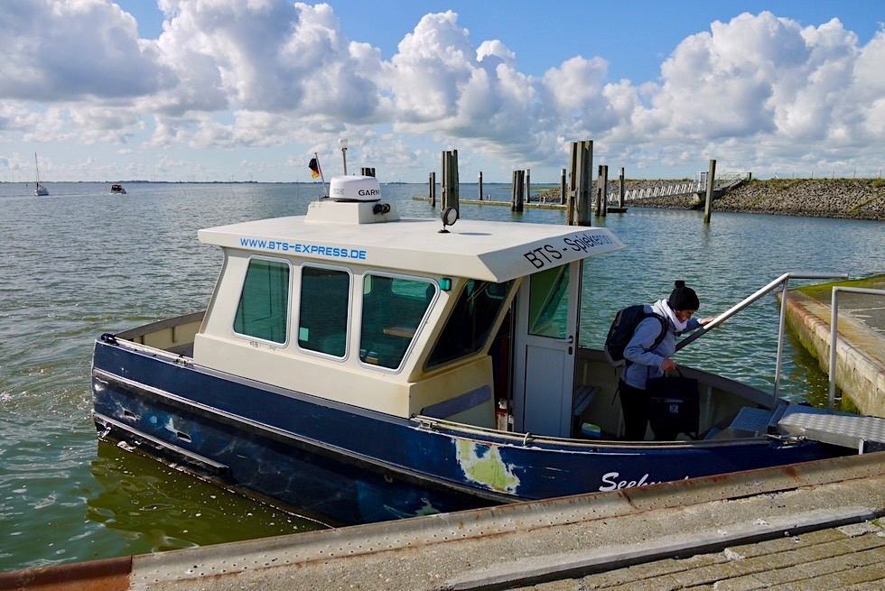 Spiekeroog - Wassertaxi: bequemer Transport zwischen den Inseln - Ostfriesische Inseln