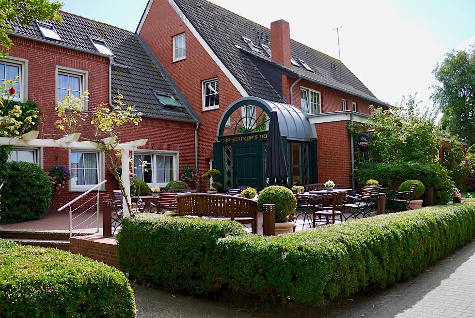 Spiekeroog - Schön angelegte Gasthäuser, Cafés. Pub & Teestuben - Ostfriesische Inseln