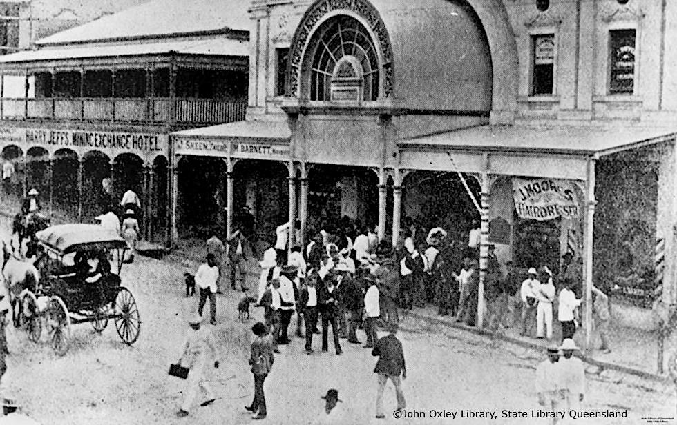 State Library Queensland - Stock Exchange Arcade in Charters Towers