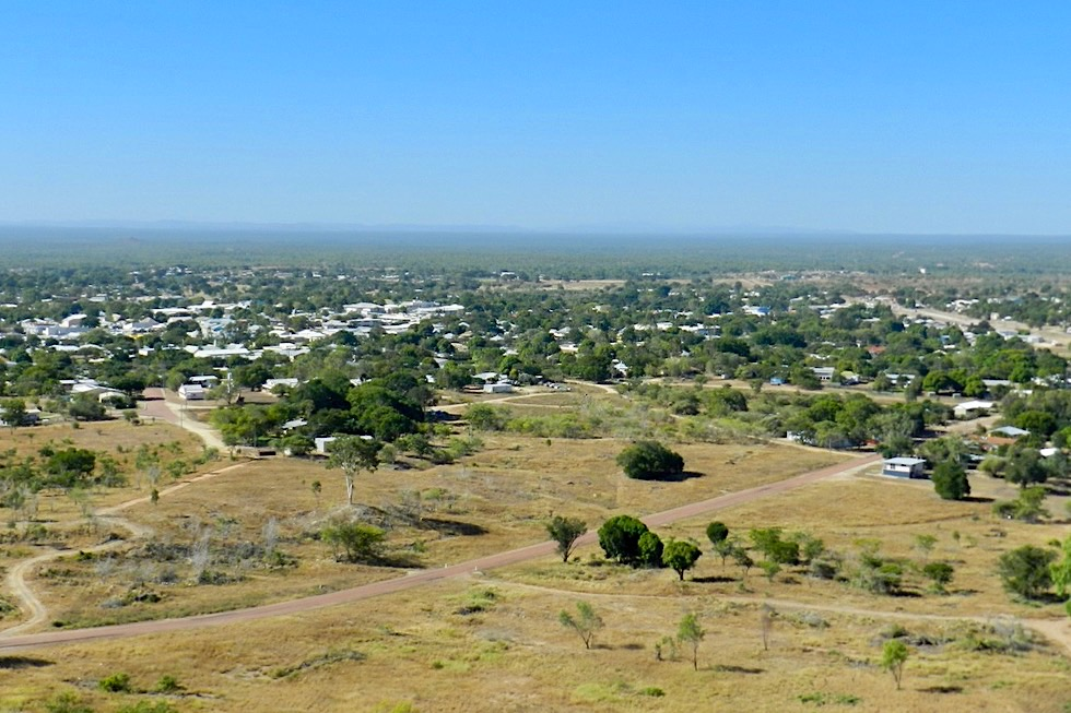 Towers Hill Lookout & wo der Goldrausch begann - Charters Towers - Queensland