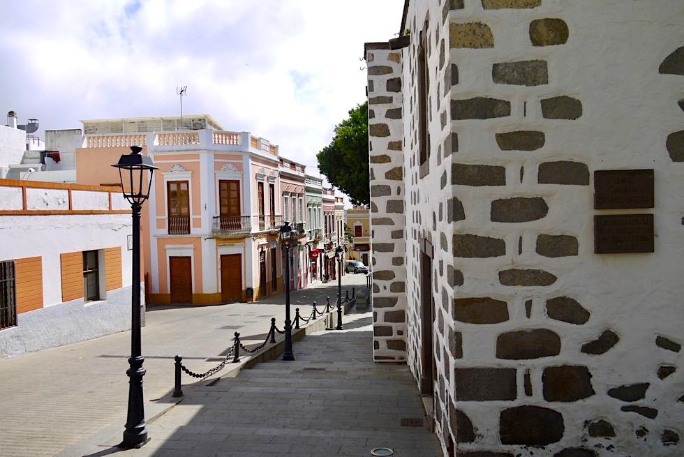 Valsequillo - Häuser in wunderschönen Pastellfarben - Gran Canaria