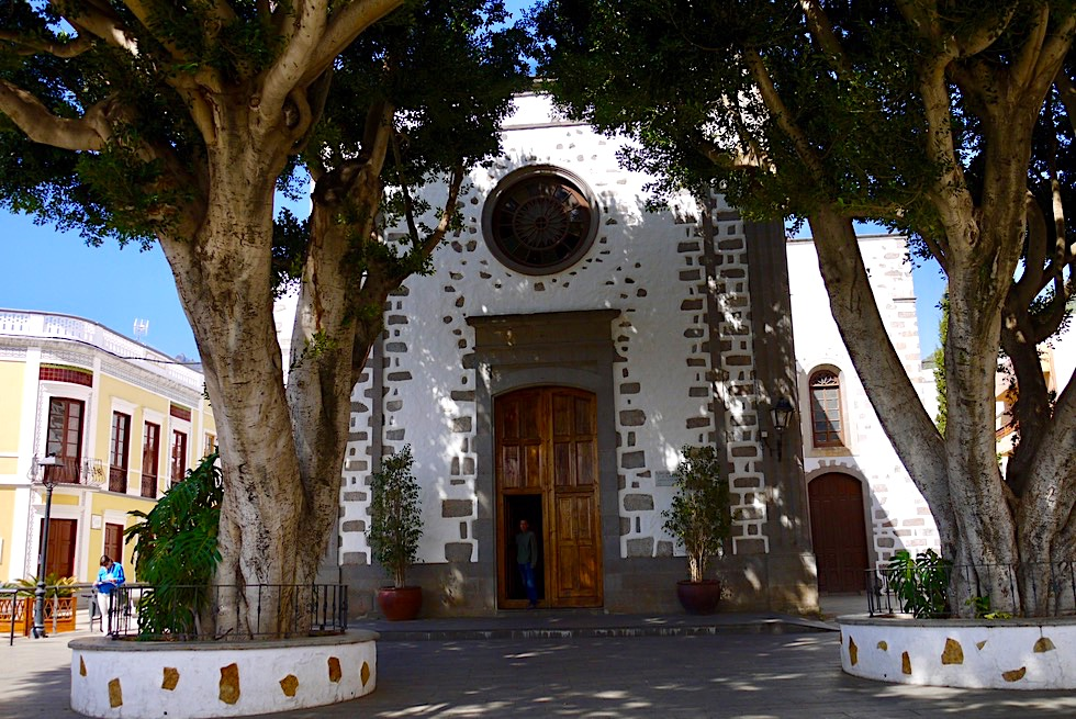 Valsequillo - Kirche San Miguel im Zentrum - Gran Canaria