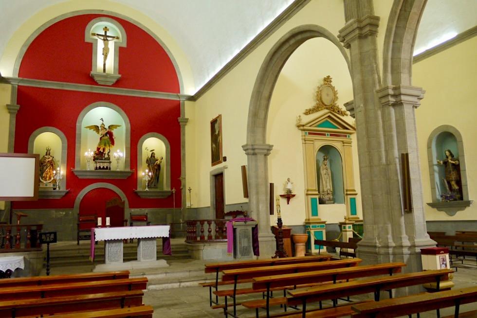 Valsequillo- Kirche San Miguel el Chico von Innen - Gran Canaria