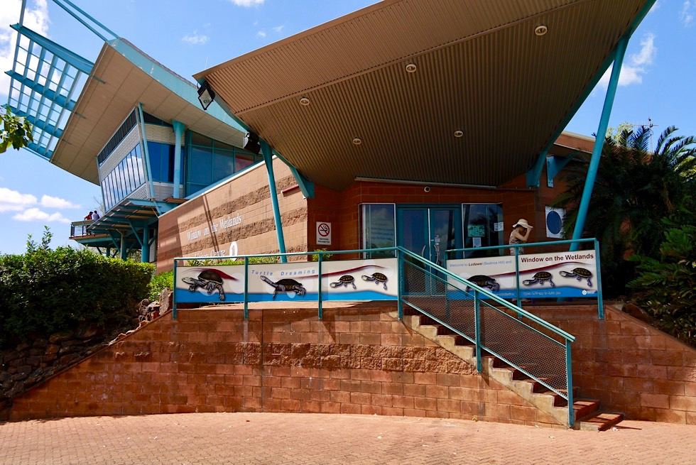 Windows on the Wetlands: tolle Ausstellung im Visitor Centre - Adelaide River - Northern Territory