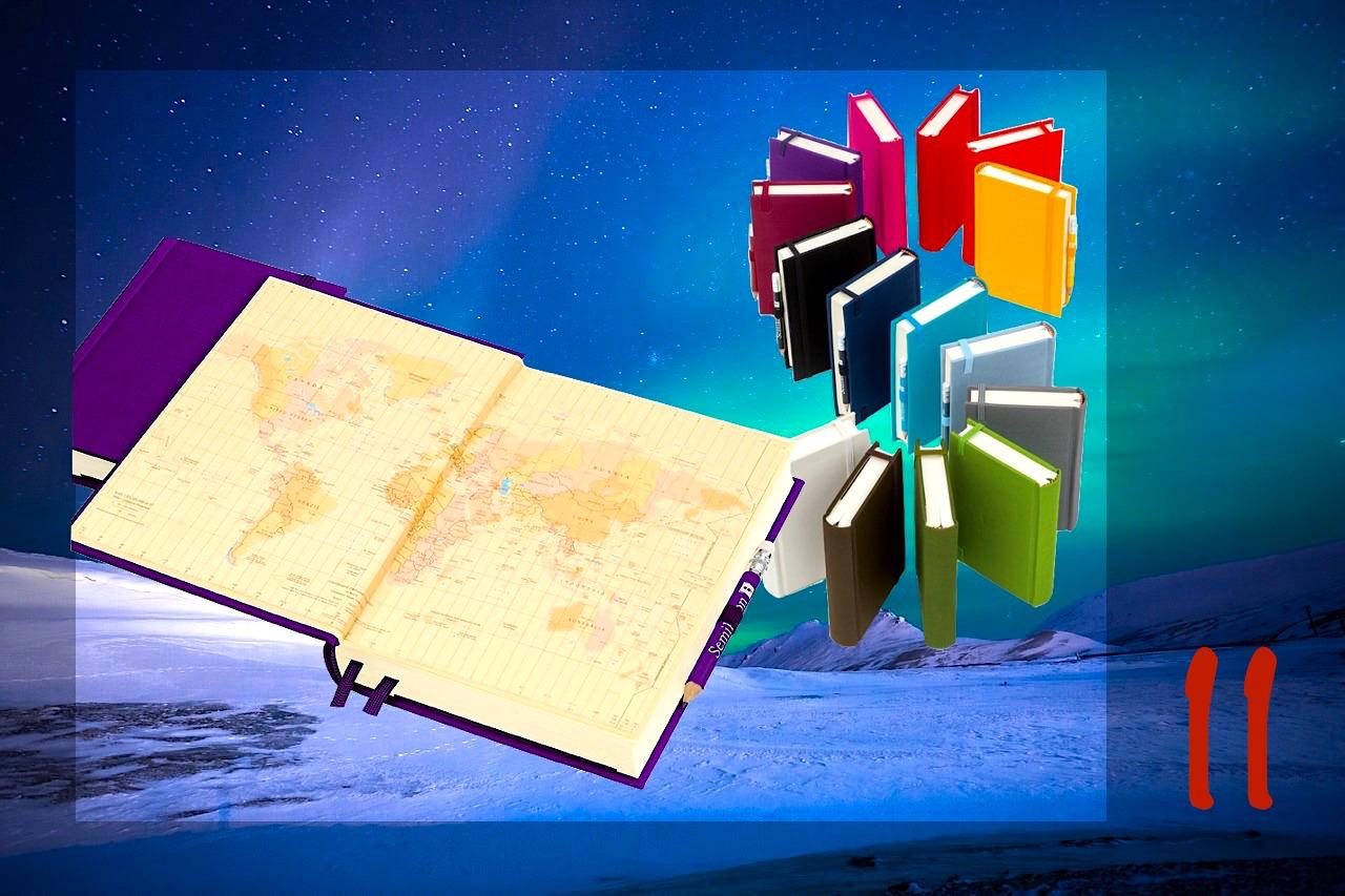 Adventskalender Gewinnspiel 2017 - Passenger On Earth #11: Reisetagebuch Grand Voyage von Semikolon