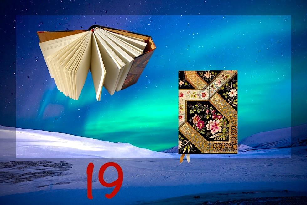 Adventskalender Gewinnspiel 2017 - Passenger On Earth #19: Paperblanks Mini Jahreskalender