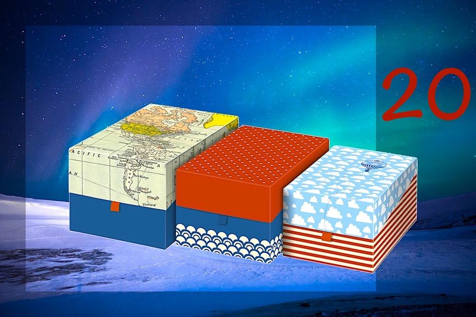 Adventskalender Gewinnspiel 2017 - Passenger On Earth #20: Fernweh Aufbewahrungsboxen - Moses Verlag