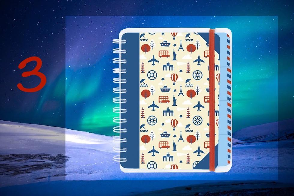 Adventskalender 2017 - Passenger on Earth #3: Fernweh Reise-Tagebuch Moses Verlag