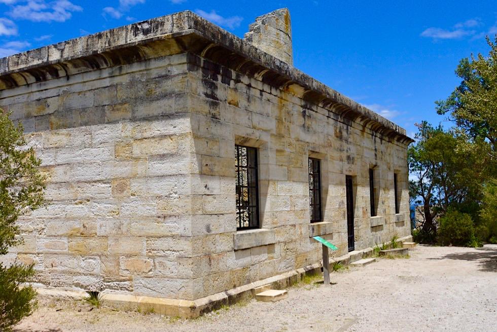 Booderee National Park - Cape St George Leuchtturm & Leuchtturmwärter-Haus: ein Ort vieler menschlicher Dramen - New South Wales