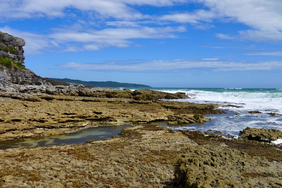 Booderee National Park - Cave Beach: das felsige Ostende - New South Wales