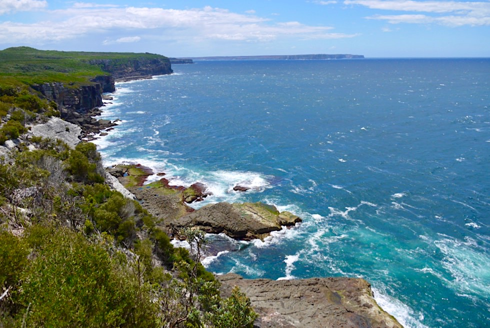 Booderee National Park - Cape St George: Zerfurchte, steile Klippen & wilde Tasman See - New South Wales