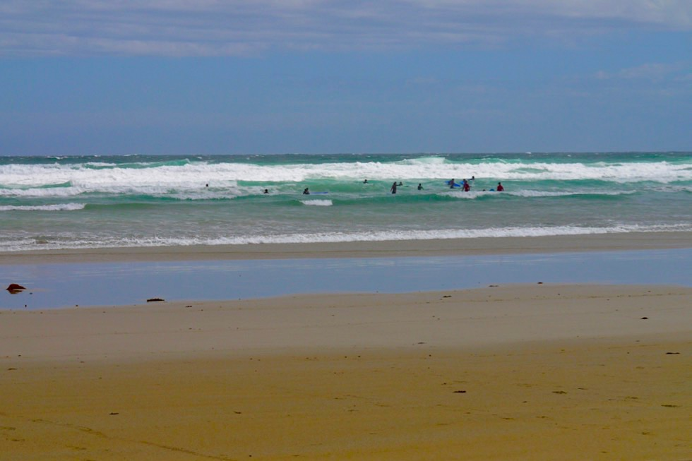 Booderee National Park - Cave Beach: ein beliebter Surf Beach - New South Wales