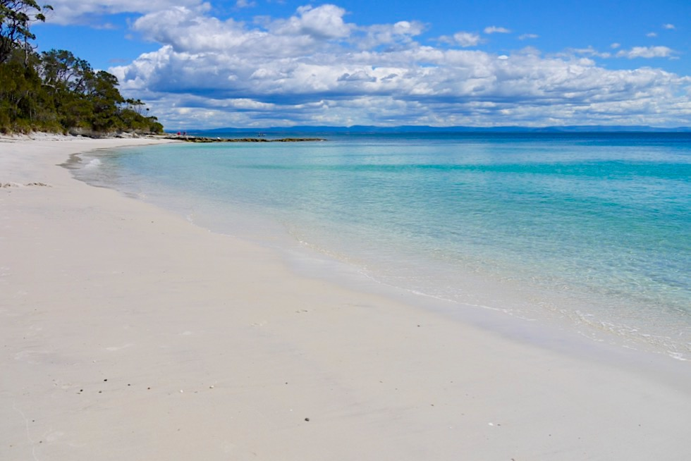 Booderee National Park - Juwel der Jervis Bay: Murrays Beach - Weißer Strand & türkisblaues Meer - New South Wales