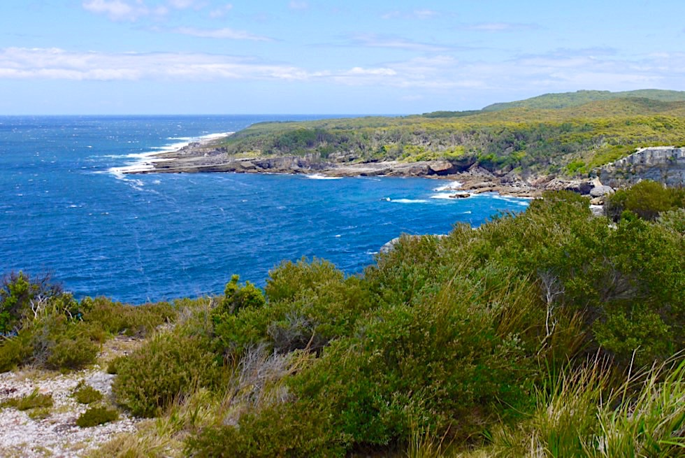 Booderee National Park - Cape St George: Ausblick auf Stony Creek - New South Wales