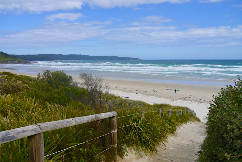 Booderee National Park - Zugang zum Cave Beach - New South Wales