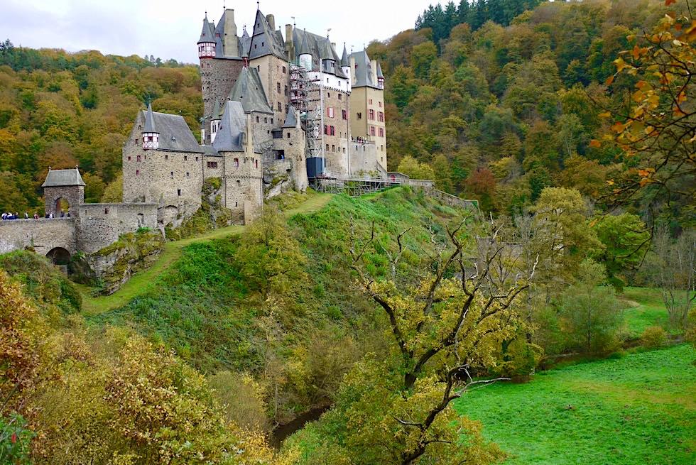 Burg Eltz - Wunderschöne Märchenburg - Wierschem - Rheinland-Pfalz