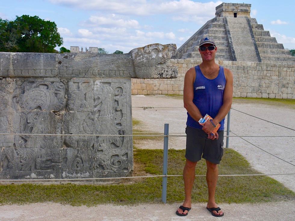 Chichen Itza - heute ein riesiges Freilicht Museum - Yucatan - Mexiko
