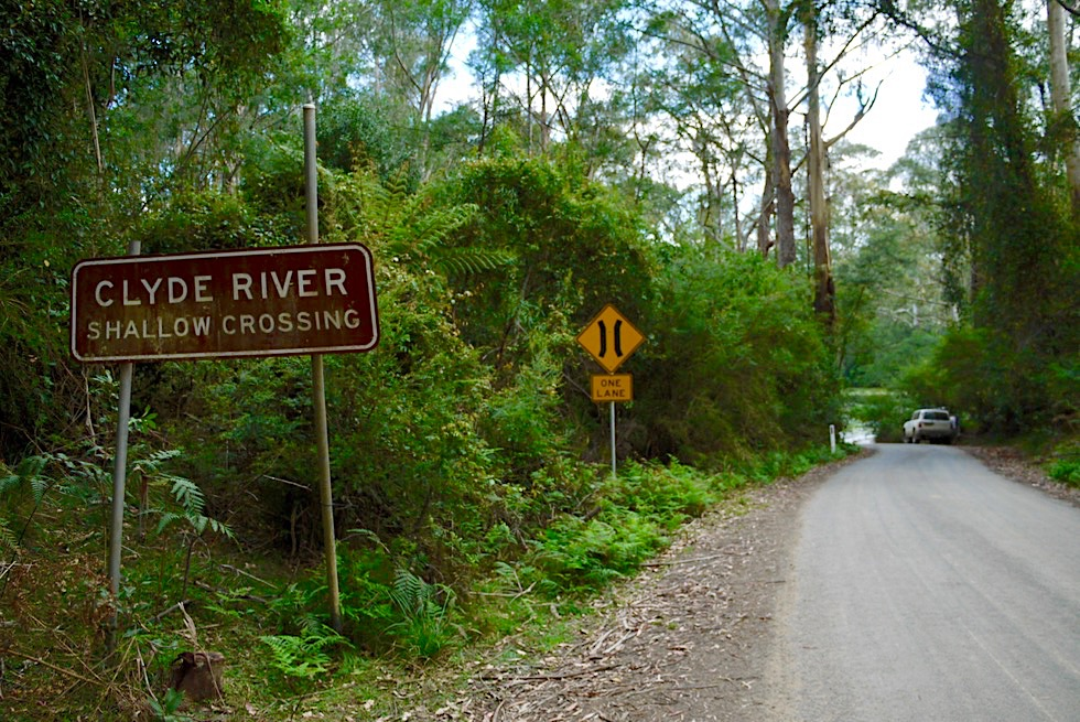 Clyde River Shallow Crossing: Fahrspaß für Allrad-Fahrzeuge / Fahrer - Shoalhaven Region - New South Wales