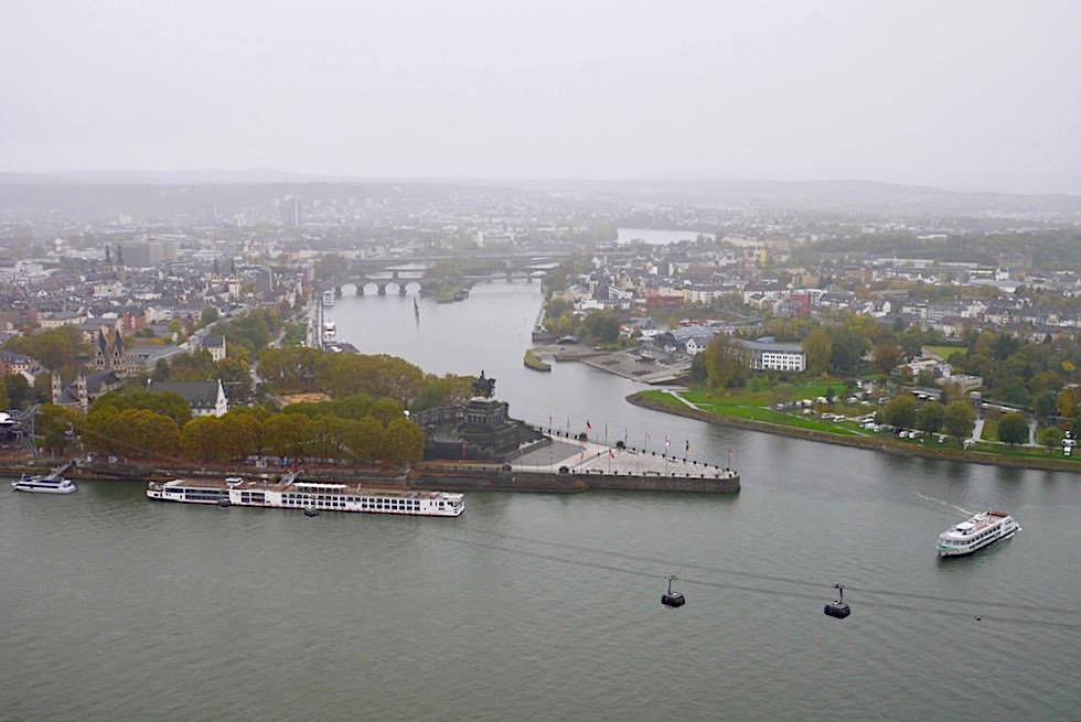 Festung Ehrenbreitstein - Faszinierender Ausblick auf Koblenz, Rhein & Mosel - Rheinland-Pfalz Reisetipps