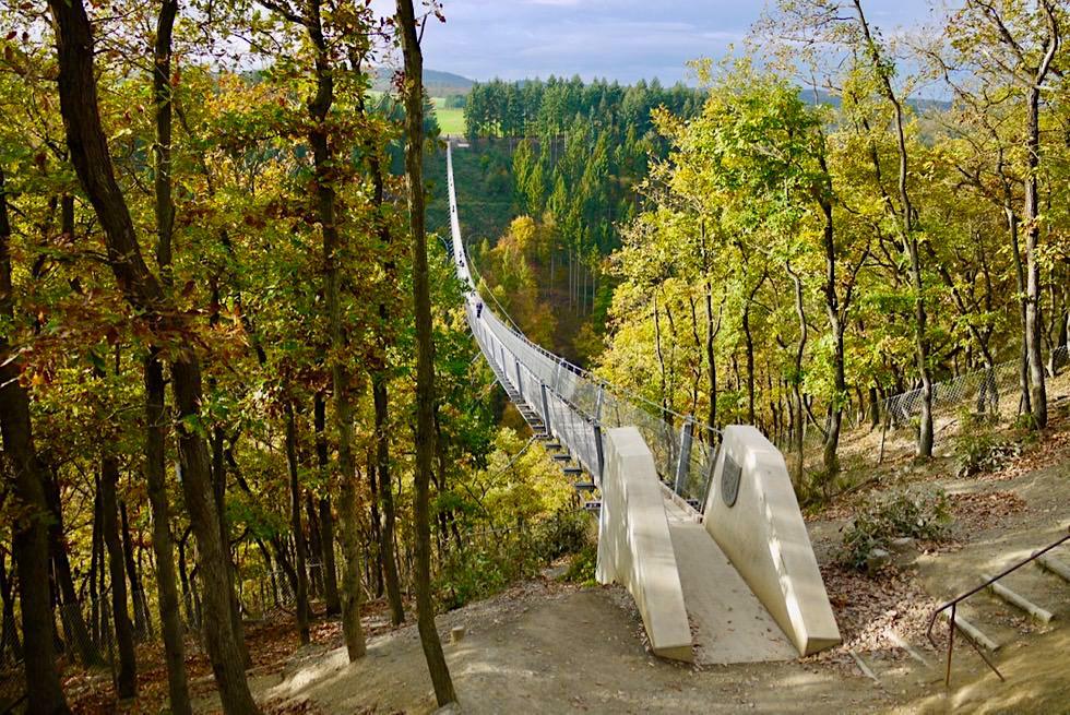 Atemberaubend: Geierlay Hängeseilbrücke - Mörsdorf - Rheinland-Pfalz Reisetipps