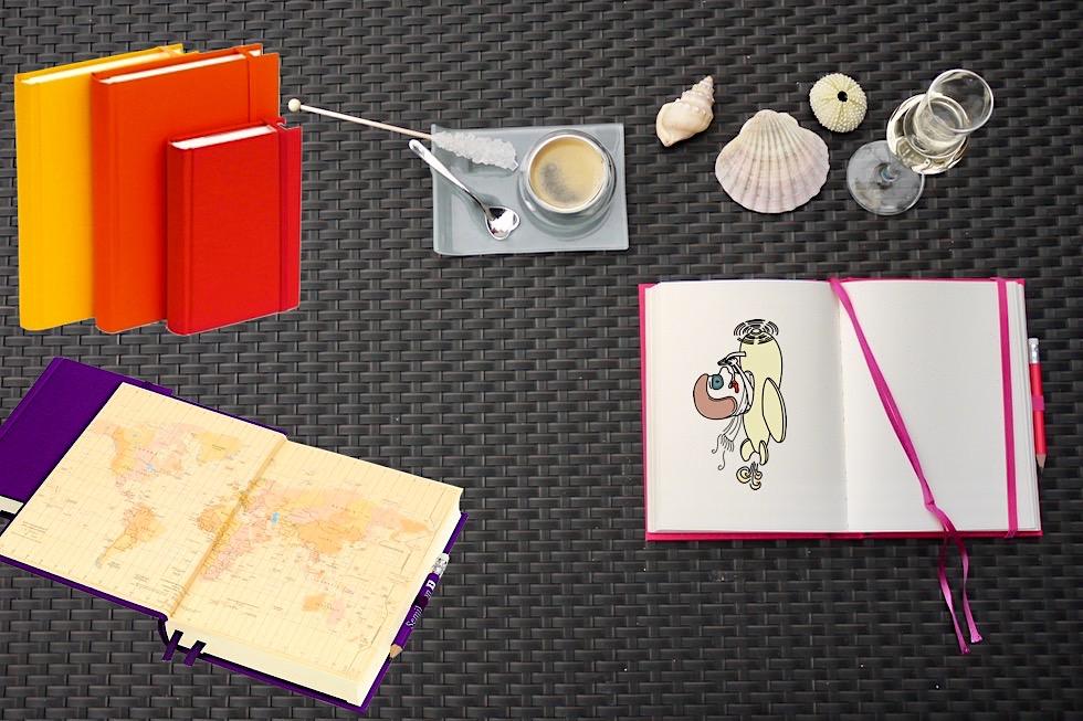 Reise-TagebuchGrand Voyage von Semikolon: Eleganz trifft auf Farben - Schönste Reisetagebücher & Erlebnis-Aufbewahrer - Passenger On Earth