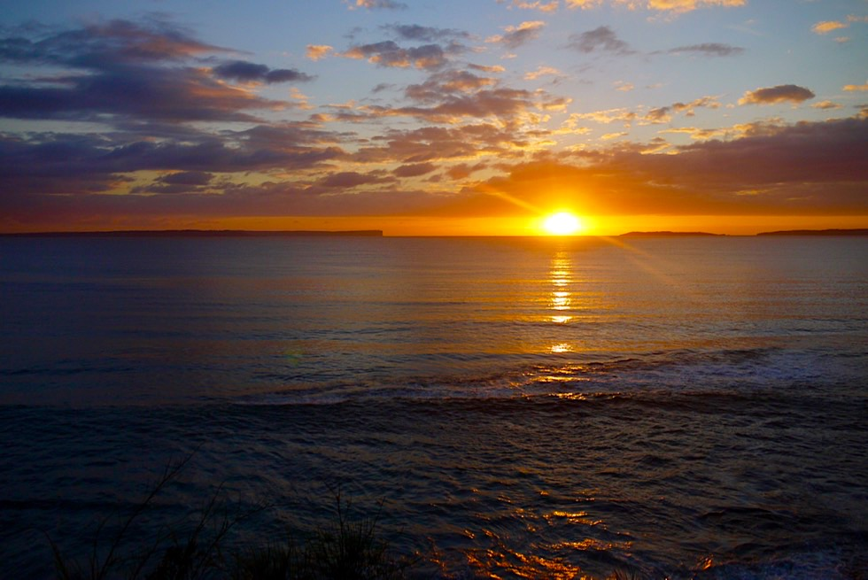 Jervis Bay - Sonnenuntergang am Blenheim Beach - Vincentia - New South Wales