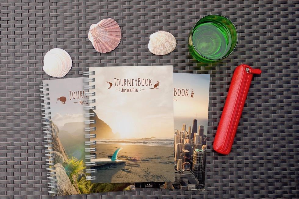 JourneyBook Jonas Ricken - Schönste Reisetagebücher & Erlebnis-Aufbewahrer - Passenger On Earth