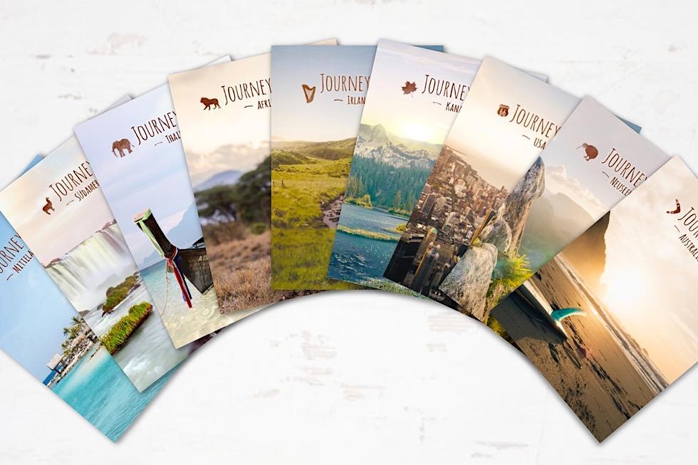 JourneyBook: Sammlung - Schönste Reisetagebücher - Passenger On Earth