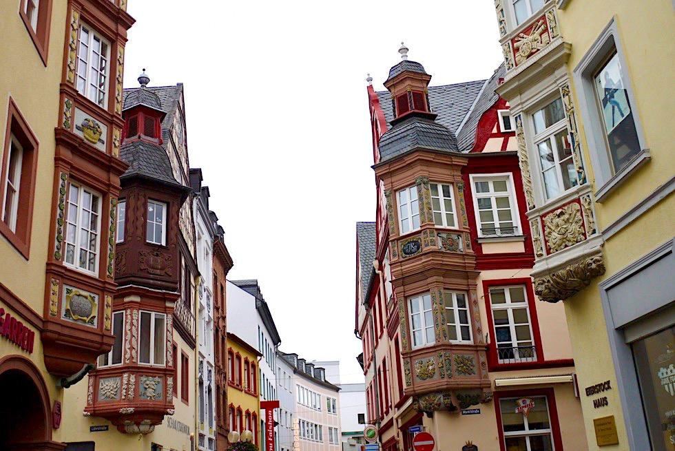 Koblenz - Vier Türme: ein Highlight der schönen Altstadt - Rheinland-Pfalz Reisetipps
