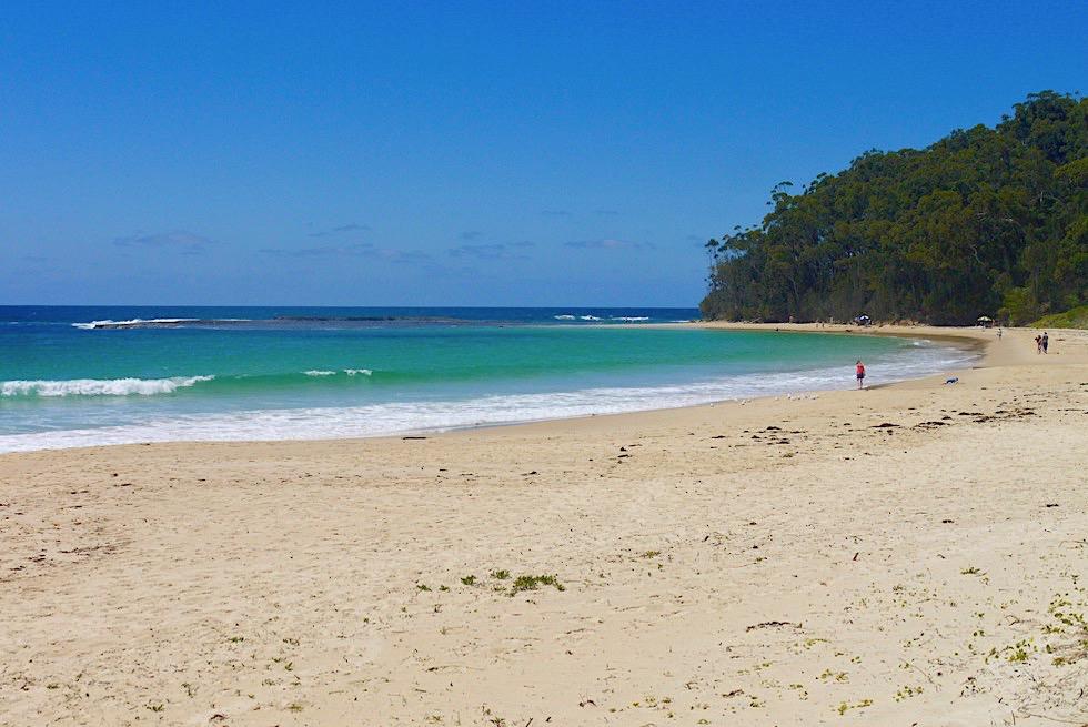 Mollymook: Wunderschönes Küstenstädtchen nahe Ulladulla mit einem grandiosen Sandstrand - New South Wales