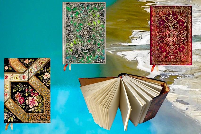 Paperblanks - Liebevoll, bunt eingebundene Jahreskalender - Schönste Reisenotizbücher & Erlebnis-Aufbewahrer - Passenger On Earth