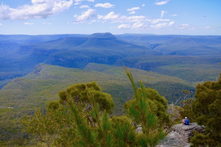 Pigeon House Mountain - Atemberaubend schöner Ausblick vom Gipfel - Morton National Park - New South Wales