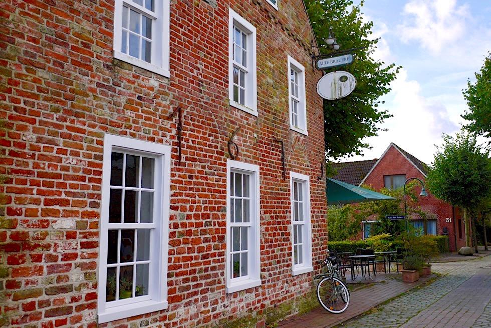 Warfendorf Pilsum - Alte Brauerei: empfehlenswertes Restaurant - Krummhörn - Ostfriesland